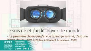 RUIC2016 Synthèse des ateliers