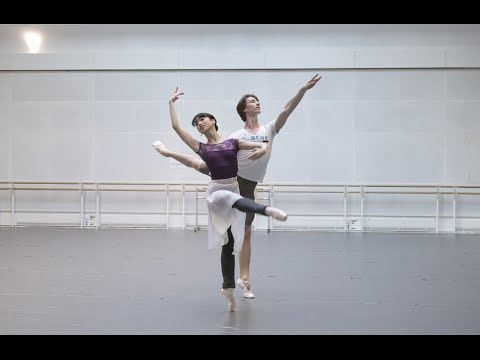 Watch: Matthew Ball and Vadim Muntagirov on dancing the role of Lensky