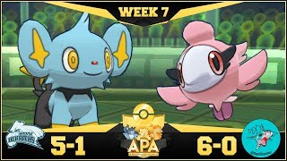 DO IT SHINX!! Bronx Beartics vs Sydney Sharpedos APA S4W7! Pokemon Ultra Sun & Moon Wi-Fi Battle by PokeaimMD
