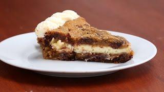 Cheesecake-Stuffed Cookie Cake by Tasty