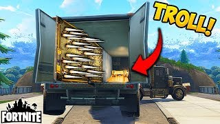 FIRST EVER TRUCK TRAP! - Fortnite Funny Fails and WTF Moments! #125 (Daily Moments)
