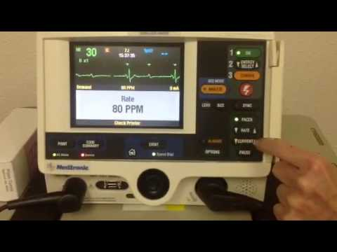 How to use the Pacing Option on the defibrillator