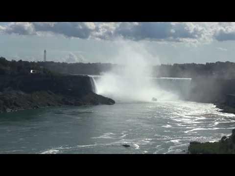 Die Niagara Fälle ganz nah / Indian Summer Tour Kanad ...