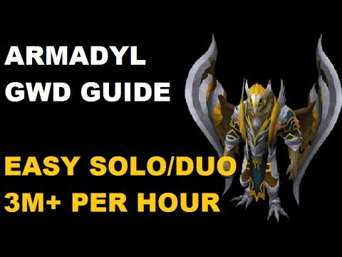 Armadyl God Wars Dungeon Solo/Duo Guide - Easy PVM Money Making [Runescape 2014] EOC