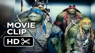 Teenage Mutant Ninja Turtles Official Movie CLIP - The Elevator (2014) - Ninja Turtle Movie HD - YouTube
