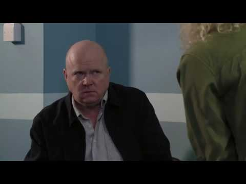 EastEnders - Phil Mitchell Attacks Lisa Fowler (25th July 2017)