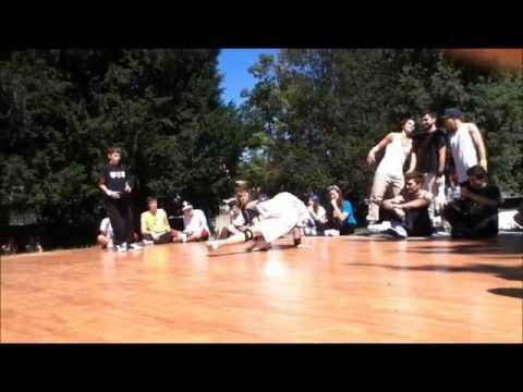 Il breakdancer di Luino