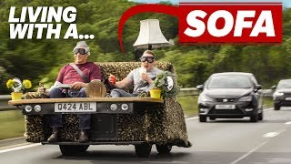 Living With A 90mph Sofa by Car Throttle