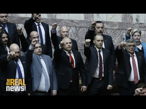 Tensions Mount in Greece as the Trial of Europe's Most Brazen Neo-Nazi Party Drags On (1/2) (видео)