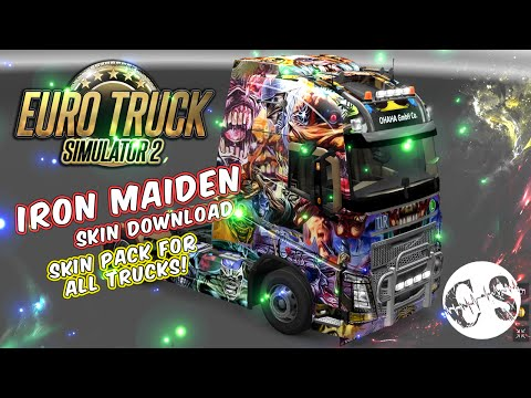 Iron Maiden Skin Pack for All Trucks