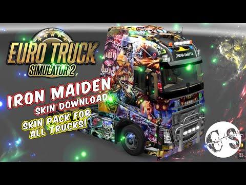 Iron Maiden Skin Pack for All Trucks