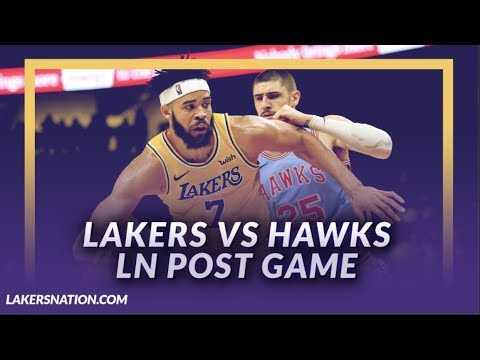 Video: Lakers Discussion: Lakers Lose to the Hawks, LeBron gets Triple Double, Luke in Trouble?