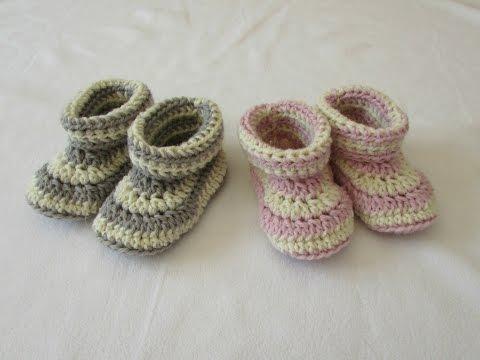 uncinetto - scarpine da neonato
