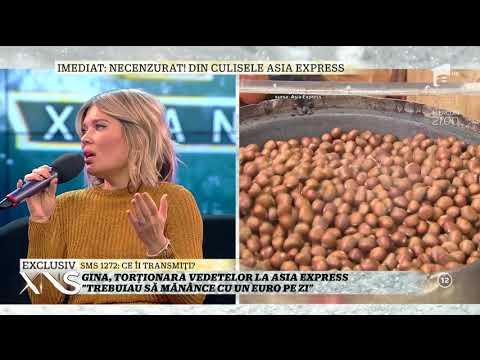 Gina Pistol, torționara vedetelor la Asia Express: Au fost multe certuri și scandaluri (видео)