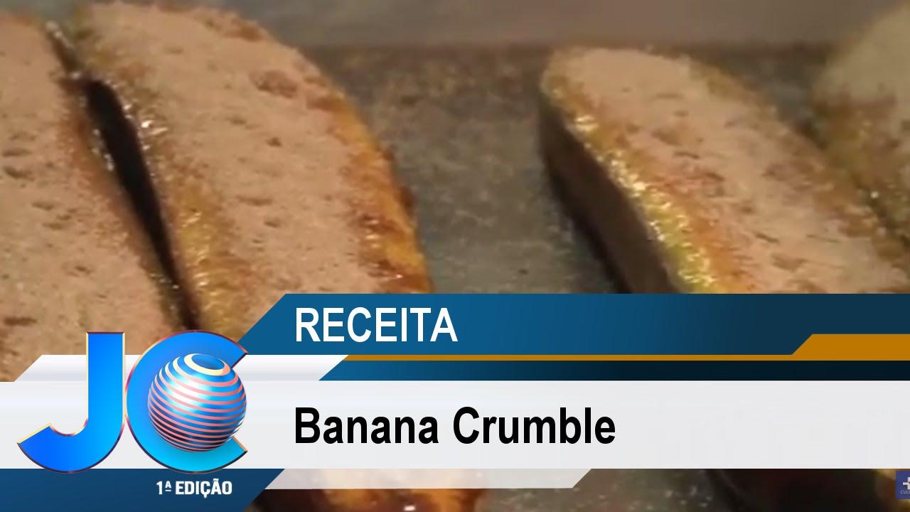 Receita da Semana: Banana Crumble