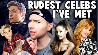 Video EXPOSING RUDE CELEBRITIES I'VE MET (I may regret this…) MP3, 3GP, MP4, WEBM, AVI, FLV Juli 2018