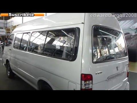 foton van view 2013 precio colombia video auto show medellin 2012 FULL HD