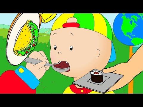 Caillou en Français | Caillou et la Cuisine Internationale | dessin animé | dessin animé pour bébé