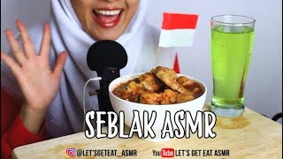 ASMR Eating Sounds: Seblak Jeletet|| Collab with The Bangors ASMR Indonesia