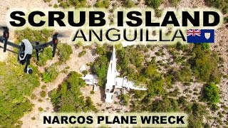 Scrub Island Anguilla is a small uninhabited island with low laying hills, patches of desert cactus, salt ponds, and tons of wild goats. There are the ruins ...