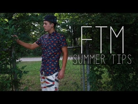 ftm - Tips for passing this summer! I talk about fashion and how I plan on dealing with the swimming situation. Facebook- https://www.facebook.com/sebastiantyler.t...