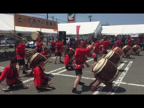 東松島 とっておきの音楽祭 赤井小学校6年生 赤井いぶき太鼓 higashimatsushima miyagi