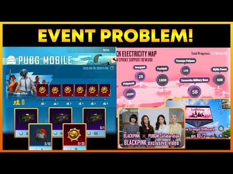 Recall Event Invitation Problem In Pubg Mobile || Blackpink Event Free Rewards (Hindi)