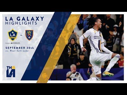 Video: HIGHLIGHTS: LA Galaxy vs. Real Salt Lake | September 30, 2017