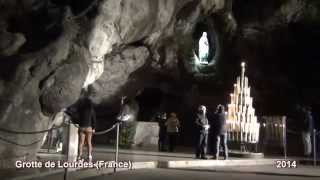 Lourde France  city images : Lourdes Grotto - Grotte de Lourdes (France)