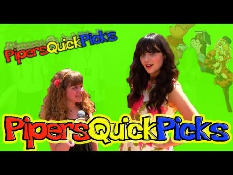 ZOOEY DESCHANEL INTERVIEW the NEW GIRL with PIPER REESE at the WINNIE THE POOH PREMIERE! (PQP #059)