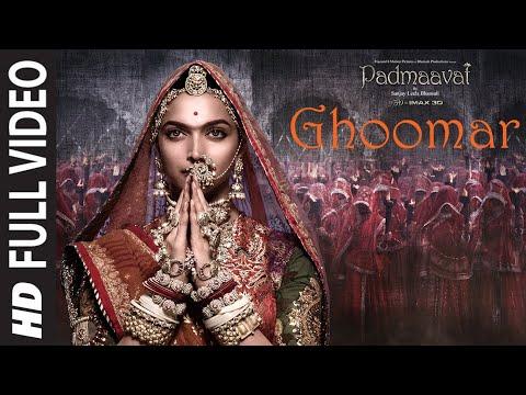 Full Video Ghoomar Padmaavat Deepika Padukone Shahid Kapoor Ranveer Singh Shreya Ghoshal SwaroopKhan