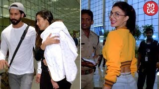 Nonton Shahid Leaves For His Vacation With Mira & Misha | Karan, Malaika, Jacqueline Spotted At The Airport Film Subtitle Indonesia Streaming Movie Download