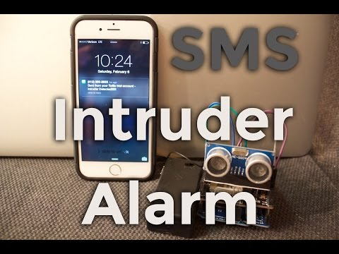 DIY Arduino Motion Detector that Sends Text Message Alert [Tutorial] Beginners