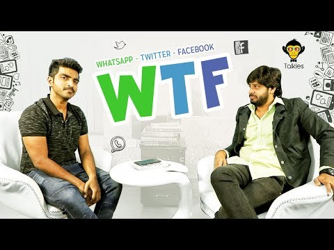 WTF.! - WhatsApp, Twitter & Facebook  - Social Media Frustrations || DJ Talkies