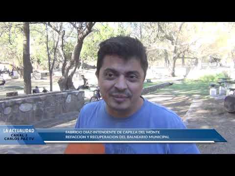 NOTA AL INTENDENTE FABRICIO DIAZ: SE REALIZO LA FIESTA DE LA PRIMAVERA EN CAPILLA : NOTA A DIAZ
