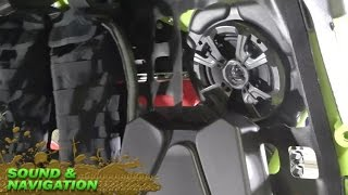 5. CAN-AM Maverick Turbo Build – Part 5 Sound System & GPS Navigation