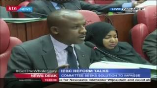 Hon Moses Kuria Engages His Colleagues In The Joint Select Committee On IEBC