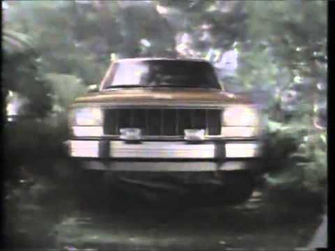 Screenshot of 1988 Jeep Cherokee Commercial