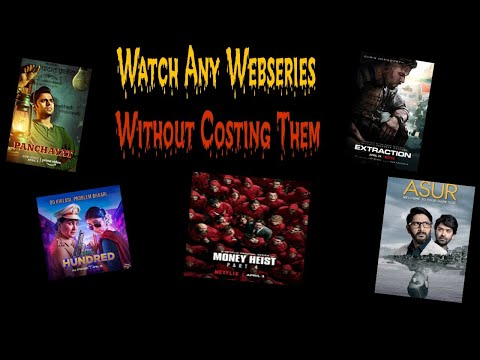 How to Watch any Webseries ,Premium movies etc Without Costing Them || High Tech World ||