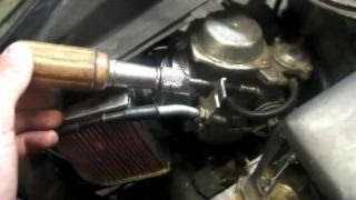 8. Scooter/Moped Carburetor Adjustment