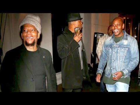 DL Hughley Chats About R Kelly, Karen Pence, And The Super Bowl At Craig's With Dave Chappelle
