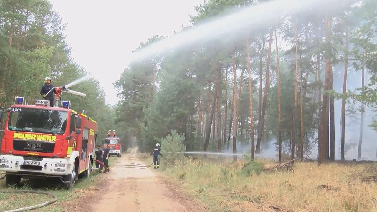 Γερμανία: Τεράστια πυρκαγιά 50 χλμ από το Βερολίνο – Εκκενώνονται κατοικημένες περιοχές