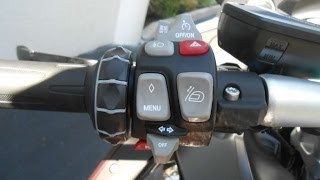 6. Understanding the Left Hand Switchgear for the BMW K1600GT and GTL Gulf Coast Motorcycles Ft Myers F