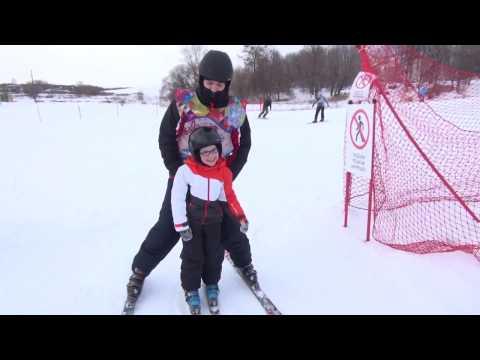 ВРязанской области обучают детей сДЦП горным лыжам
