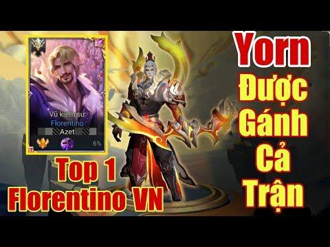 [Gcaothu] Top 1 Florentino Việt Nam đánh tởm như thế nào - Yorn được trổ tài gánh team - Thời lượng: 15:59.