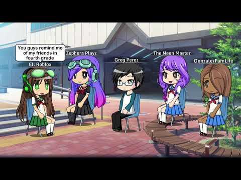 Gacha Middle School- S1 E1- The New Girl (read Desc)