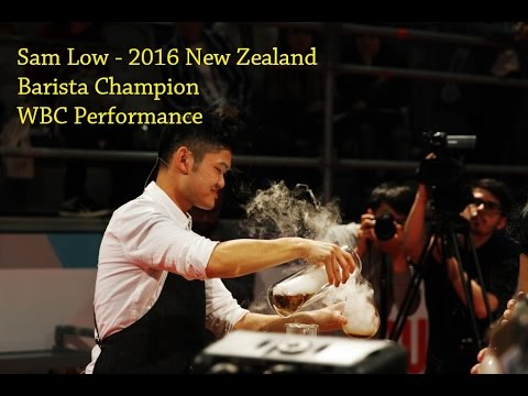 2016 World Barista Championship // Sam Low - New Zealand Barista Champion