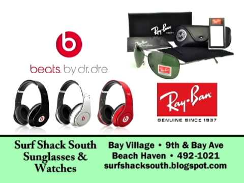 Surf Shack South Sunglasses and Watches