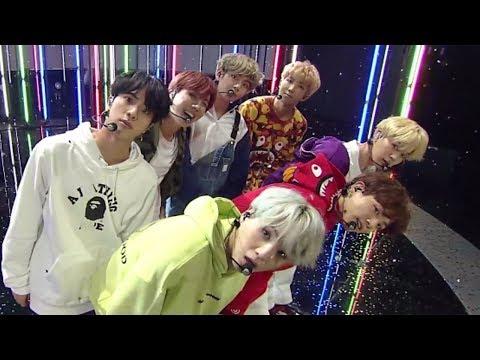 《POWERFUL》 BTS(방탄소년단) - Go Go(고민보다 Go) @인기가요 Inkigayo 20171008