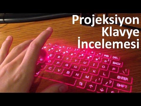 Projeksiyon Klavye